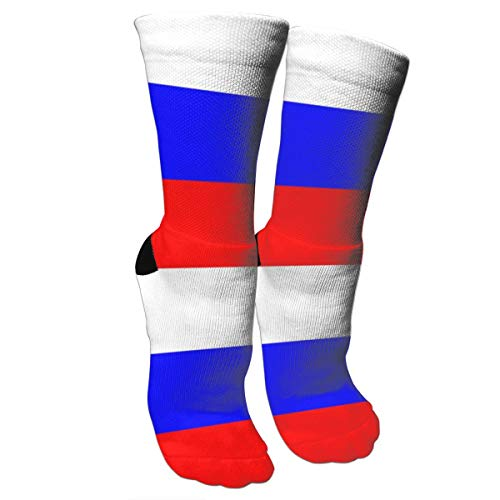 antcreptson Russian Flag Womens Winter Soft Warm Thick Socks