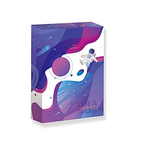 Naipes Coloridos, Cartas de Póquer Mágicas, Ideales para Magia, Juegos de Cartas y Fiestas, 3.4x2.4 Pulgadas,Grape