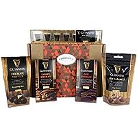 La Cesta Con La Selección Definitiva De Chocolate - Incluye Minipintas, Trufas, Minicaramelos, Chocolate Negro Y Con Caramelo - Cesta Exclusiva Para Burmont