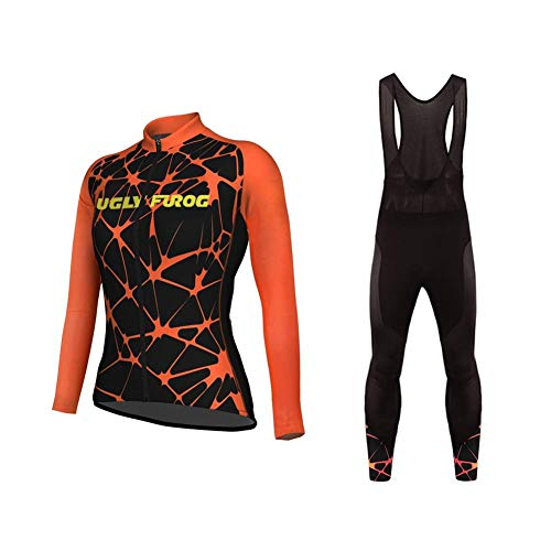 Sports Wear UGLYFROG Ropa Ciclismo Otoño/Invierno/Mujer - Cicicleta de montaña Ciclismo Maillot...