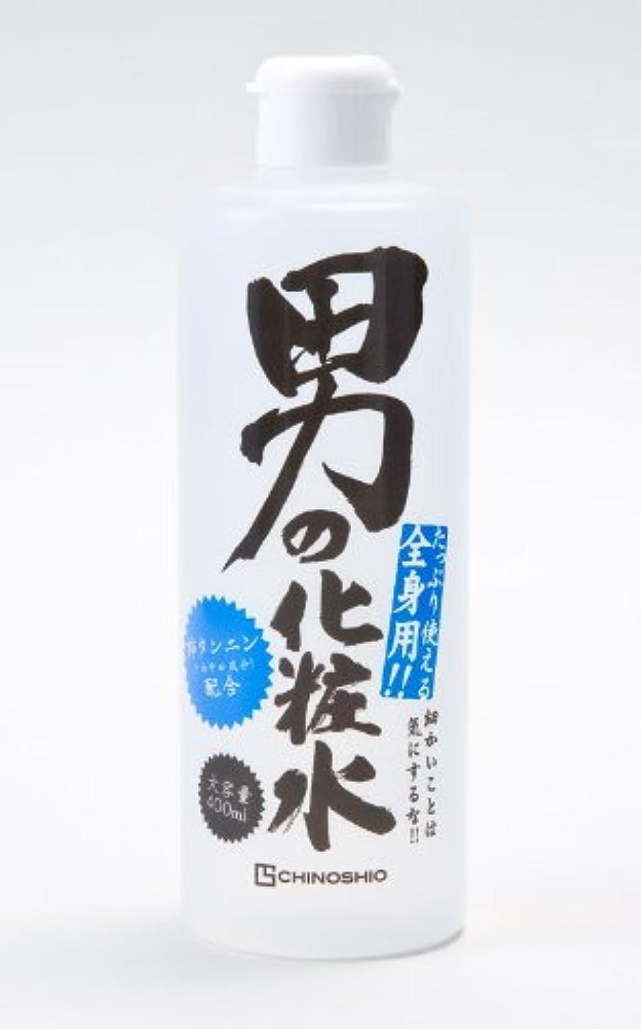 麻酔薬ツールソフトウェアちのしお 男の化粧水 (男性用全身化粧水)400ml×24本