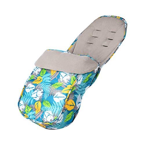 laimoere Manta para Cochecito 3 en 1, Cubierta para pies de Saco de Dormir con Vendaje cálido y Resistente al Viento, Manta para bebé