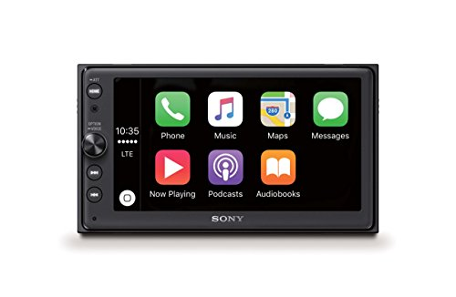 Sony XAV-AX100 16,3 cm (6,4'') Récepteur multimédia (avec Bluetooth, Apple CarPlay et Android Auto, GPS, Spotify, autoradio 2 DIN)