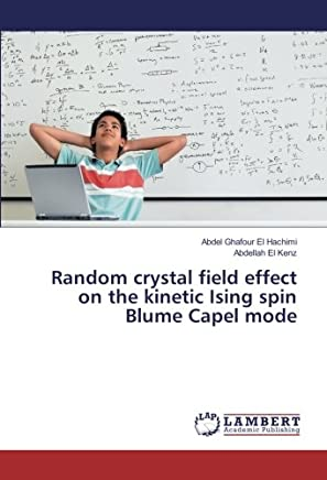Random crystal field effect on the kinetic Ising spin Blume Capel mode