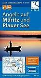 Angel- und Gewässerkarte Müritz und Plauer See: Maßstab 1:50.000, GPS geeignet, Tipps zum Angeln...