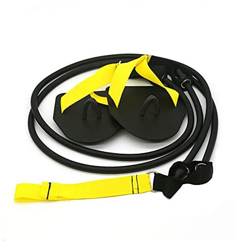 Ejercitador de fuerza de brazos, bandas de resistencia para adultos, entrenamiento de brazos de TPE, cuerda de tracción, pilates, fitness, banda de goma para entrenamiento de cuerpo entero