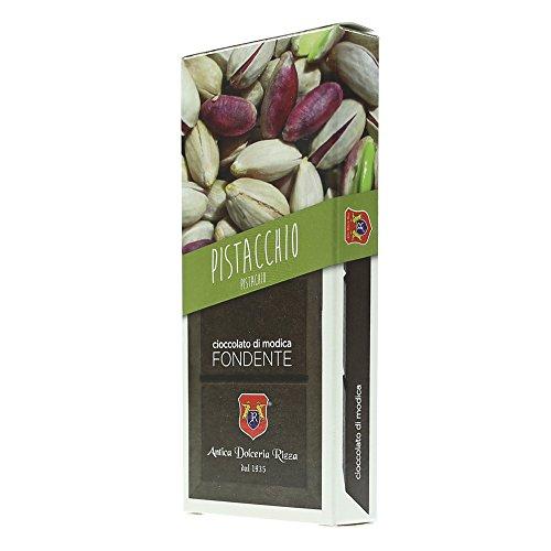 RIZZA - 3 x Cioccolato di Modica al Pistacchio 100gr.