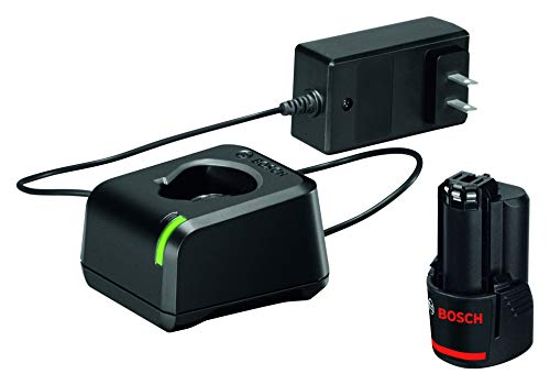 BOSCH GXS12V-01N12 12V Max Lithium-Ion Battery and Charger Starter Kit