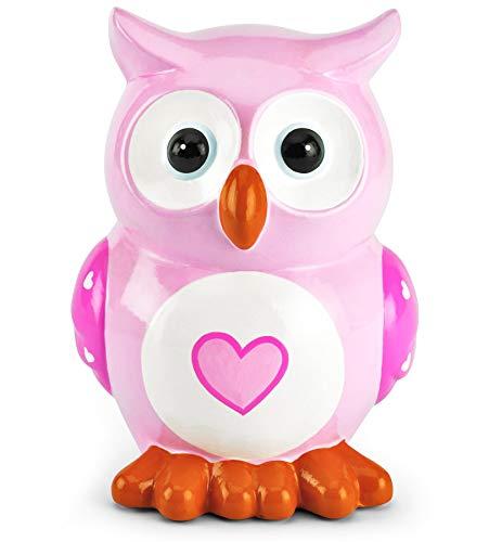 Mousehouse Gifts - Hucha infantil forma búho corazón