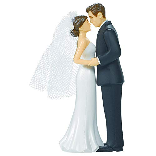 Bride & Groom Cake Topper | Wedding and Engagement Party, 4.5'