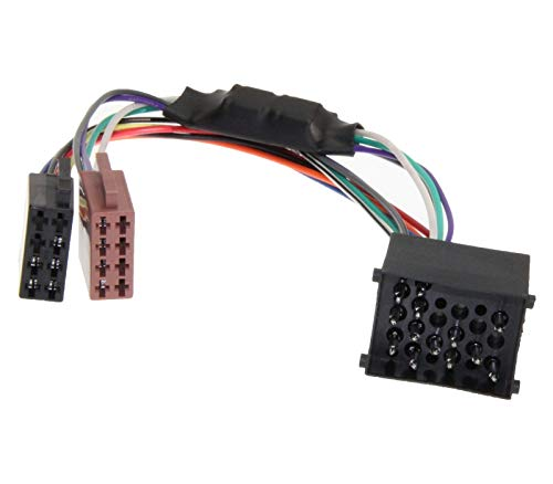 Câble adaptateur autoradio DIN ISO pour système auto actif Bose Harman Kardon DSP