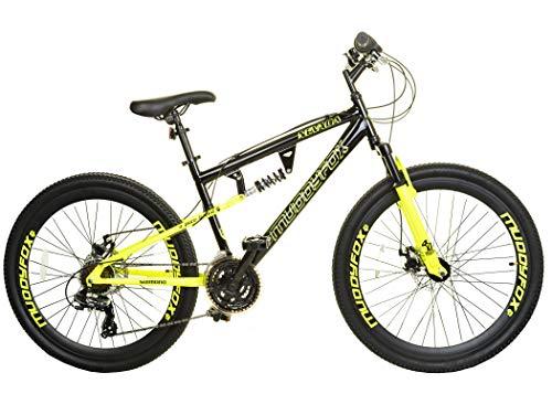 Muddyfox Men's Fox Nevada Dual Suspension/Disc Brakes 21 Speed Mountain Bike