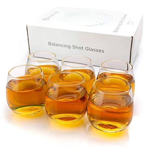 Cool Shot Glasses Round Balancing