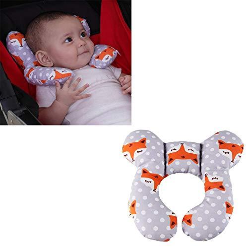 G-Tree bébé Voyage oreiller, cou Oreiller bébé Adapté pour voyager dans le bus, voiture, avion ou utiliser à la maison, la tête du nourrisson et du soutien du cou (Fox)
