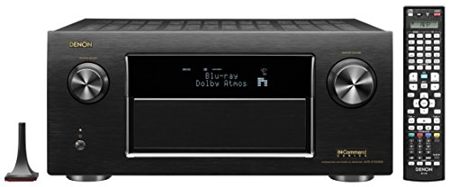 Denon AVR-X7200WA 9.2 Channel Full 4K Ultra HD Audio/Video Receiver with Bluetooth and Wi-Fi