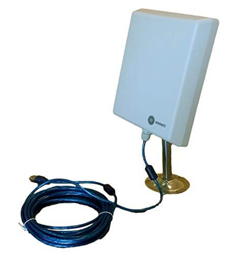 Antena Exterior WiFi USB 5 Metros Largo Alcance Wonect N4000