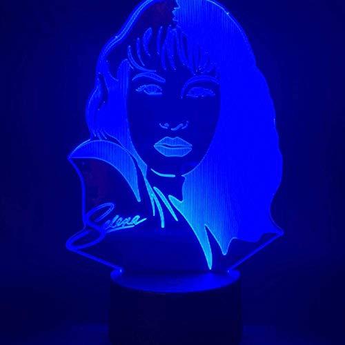 Promi-Figur nachtlampje voor thuiskantoor, ruimtedecoratie, ventilator, nachtlampje, kleurverandering, tafel, bureaulamp, 3D
