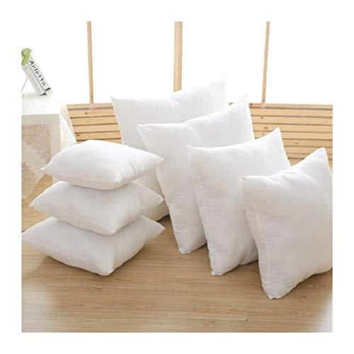 Almohada blanca con núcleo de tela, diseño agradable al tacto, mejora el efecto del sueño, almohada de cuidado de la salud, 1 pieza 45 x 45 cm 3.12