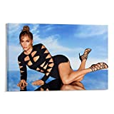 XUYAN Jennifer Lopez Poster, dekorativ, ästhetisch,