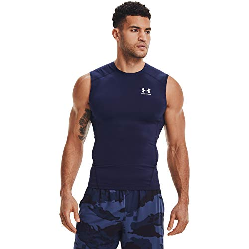 Under Armour UA Speed Stride Short Sleeve, leichtes Sport Shirt mit reflektierenden Details, kurzärmliges Herren T-Shirt Herren, Cosmos / Breeze / Reflective, XL