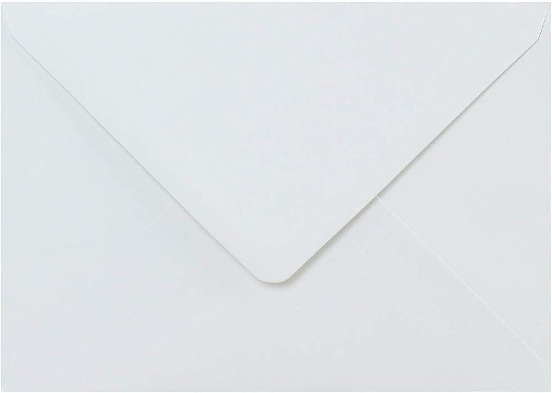 12,7 x 17,8 cm (133 x 184 mm) weiß Umschläge von Cranberry – 250 Pack B072FG13BF | Stil