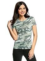 Amazon.es: Camiseta Camuflaje