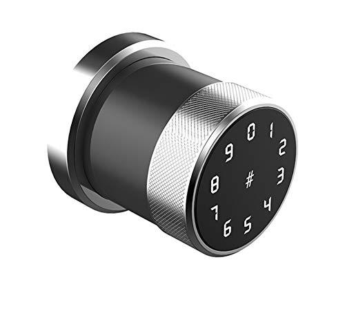 Elektrische Smart Lock, digitaal toetsenbord, smart smart deurslot, waterdicht wachtwoord, waaronder twee IC-kaart deuren voor binnenlandse veiligheid,1