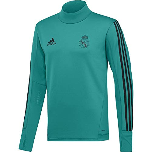 adidas Herren Real Madrid Sweatshirt, Aerree/Black, L