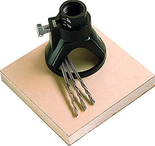 Dremel 565 kit de corte multiusos, juego de accesorios con 1 guía de corte y 3 brocas de corte para realizar cortes de precisión