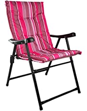 Foldable Camping Chair, Multi Color S4