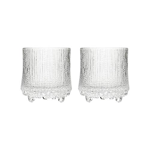 Iittala Ultima Thule Bicchieri da Longdrinks, Set da 2, Long Drink, Bicchieri da Cocktail, Cocktail, Vetro, Trasparente, 280 ml, 1008516