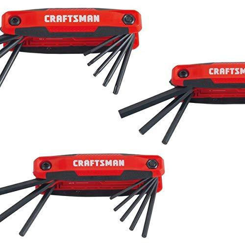 CRAFTSMAN Hex Key Set, 25-Key, 3-Pack, Folding (CMHT26004)