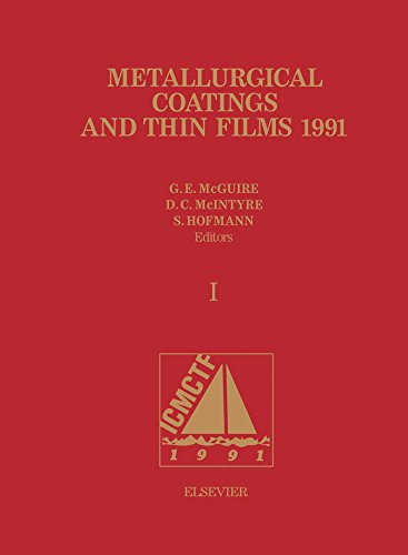 Metallurgical Coatings and Thin Films 1991 (English Edition)
