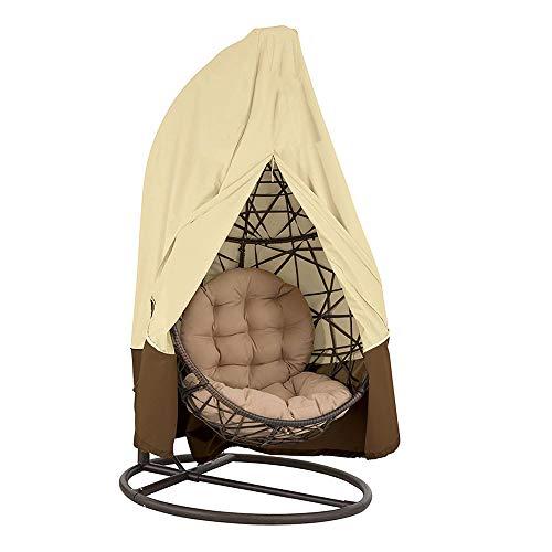 Littleduck Patio Swing Chair Cover Hangende Cocoon Ei Rotan Stoel Beschermer Rieten Stoel Beschermende Cover Waterdichte Oxford Stof UV Bestand
