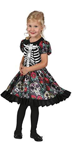 BOLAND BV Disfraz de Catrina Coqueta para niña A-3/4 años