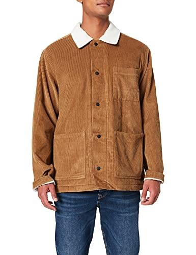 Hurley M Peninsula Jacket, Mens, Lt British Tan, XXL