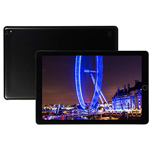 Tablet 10 Inch Android 8.0 3G Phone Tablets with 64GB Storage Dual Sim Card 13MP Camera, WiFi, Bluetooth, GPS, Quad Core, HD Touchscreen, Support 3G Phone Call