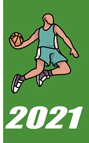 Kalender 2021 - Basketball: Kalender für das Jahr 2021 | Wochenplaner mit Motiv Basketball | inklusive Jahreskalender 2020-2022 | Wochenplaner | viel ... | Geschenkidee für Basketballspieler