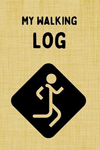 My Walking Log Daily Walking Log Book Walkers Logbook Trekking Log Book Notebook Trekker s Book product image