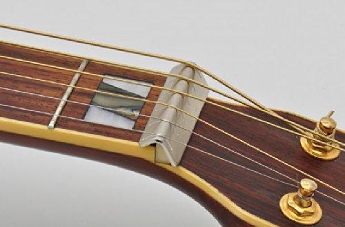 Göldo ASNUT Metal Slide Extender Sattel (von Gitarre zu Dobro / Slidegitarre)