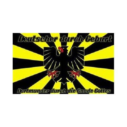 Dortmund - Durch Die Gnade Gottes Fahne (F7)