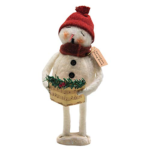CWI Gifts Sprinkles Songbook Snowman Doll, Multicolored