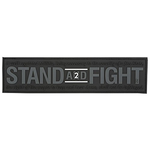 Maxpedition Gear Stand and Fight 2nd Amendment Patch Swat, 12,7 x 3,1 cm