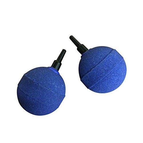 Finest-Filters Lot de 2 pierres à air rondes pour bassin ou aquarium 50 mm