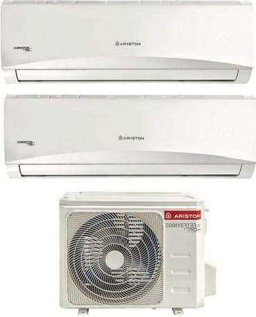Climatizzatore Dual Split Inverter 12000 + 12000 Btu Classe A++/A+ Serie Prios