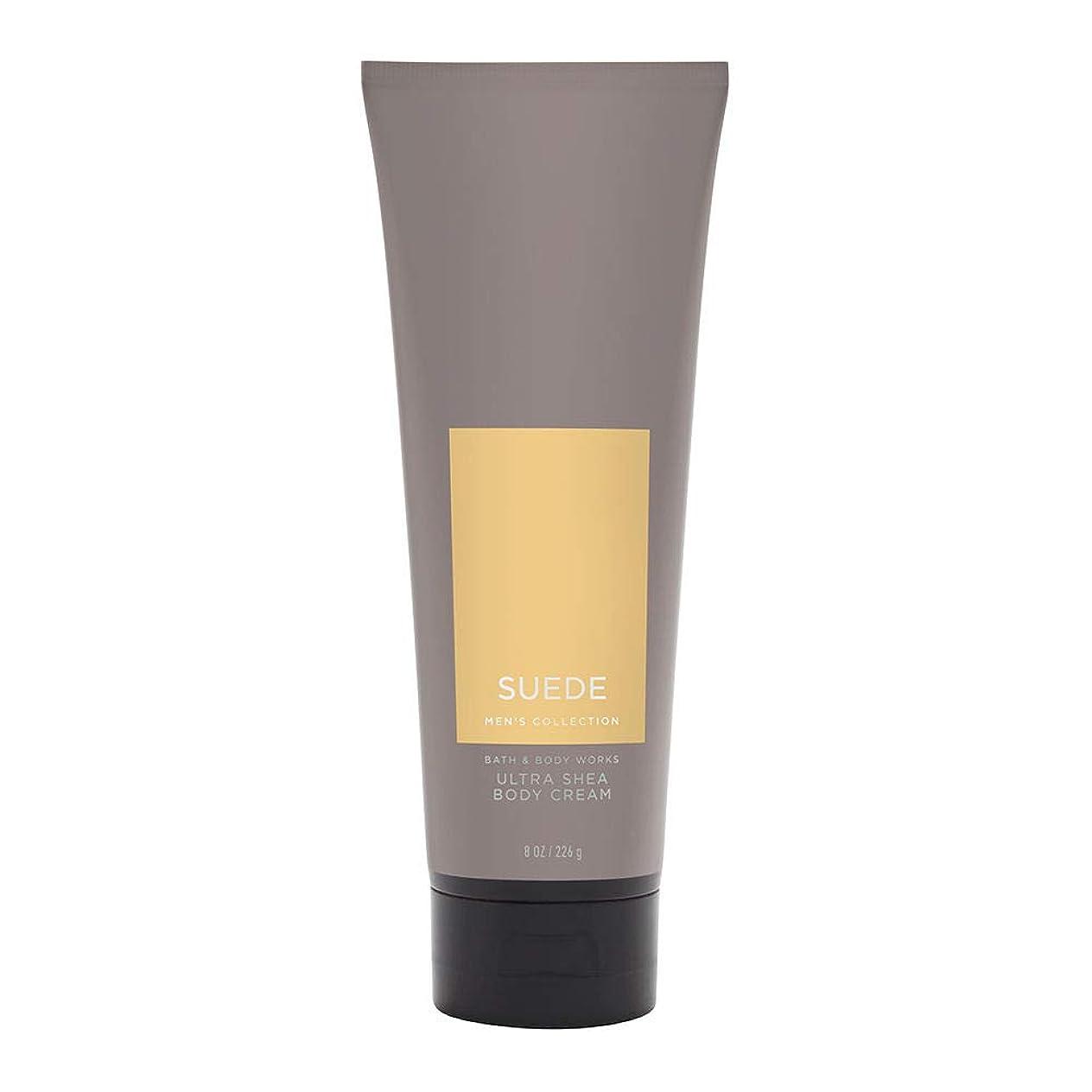 講堂珍味定期的な【並行輸入品】Bath and Body Works Suede for Men Ultra Shea Body Cream 226 g