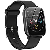Smart Watch, PUBU Smartwatch for Android Phones and Compatible iPhone,Step Tracker Watch for Men Women,Fitness Tracker Watch for Women and Men