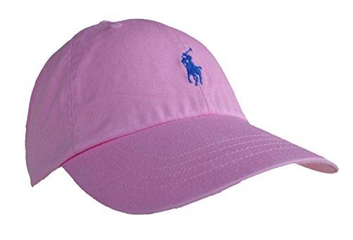 Ralph Lauren Classic - Gorra de deporte, algodón, talla única, color rosa