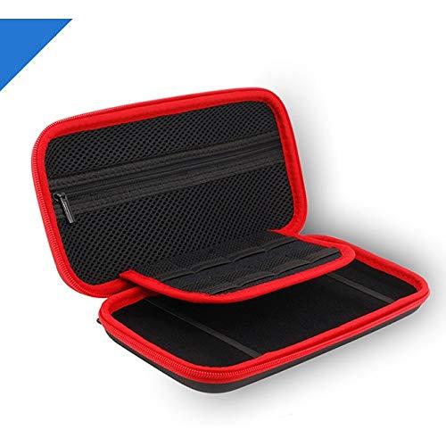 Sxgyubt Tragbare Aufbewahrungstasche für Switch LiTE Switch Mini Host Spielkonsole Schutz Hard Bag Aufbewahrungsbox, Schwarz , One size