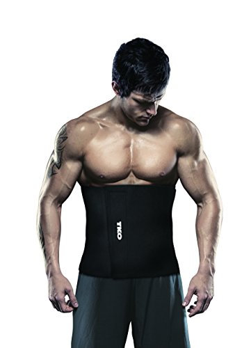 "TKO Black 12"" Wide Waist Trimmer for Men"
